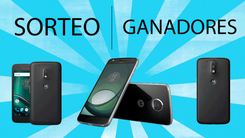 Sorteo Moto G4, moto G4 Play y Moto Z Play The Geeky Show